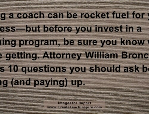 Coaching & Mentoring Programs: What You Need to Ask Before Joining