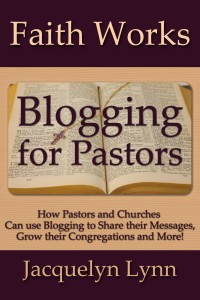 Blogging for Pastors cover