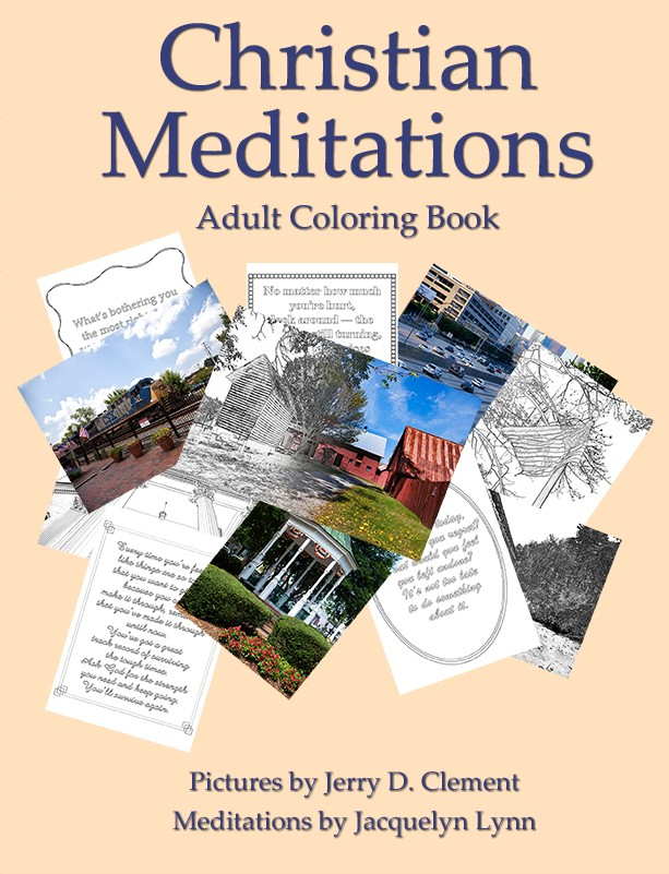 Christian Meditations Adult Coloring Book