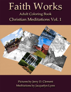 Christian Meditations Vol 1 Faith Works Adult Coloring Books