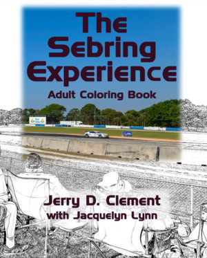 Fan Who Also Likes To Color Youll Love The Sebring Experience Adult Coloring Book Pictures Feature Cars People And Action From Legendary 12
