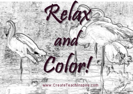 Relax and Color - Faith Works Adult Coloring Books