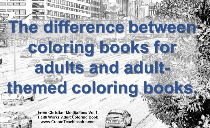The Difference Between Adult and Adult-themed Coloring Books ...