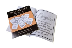 Faith Words Vol 1, Adult Coloring Book from Faith Works