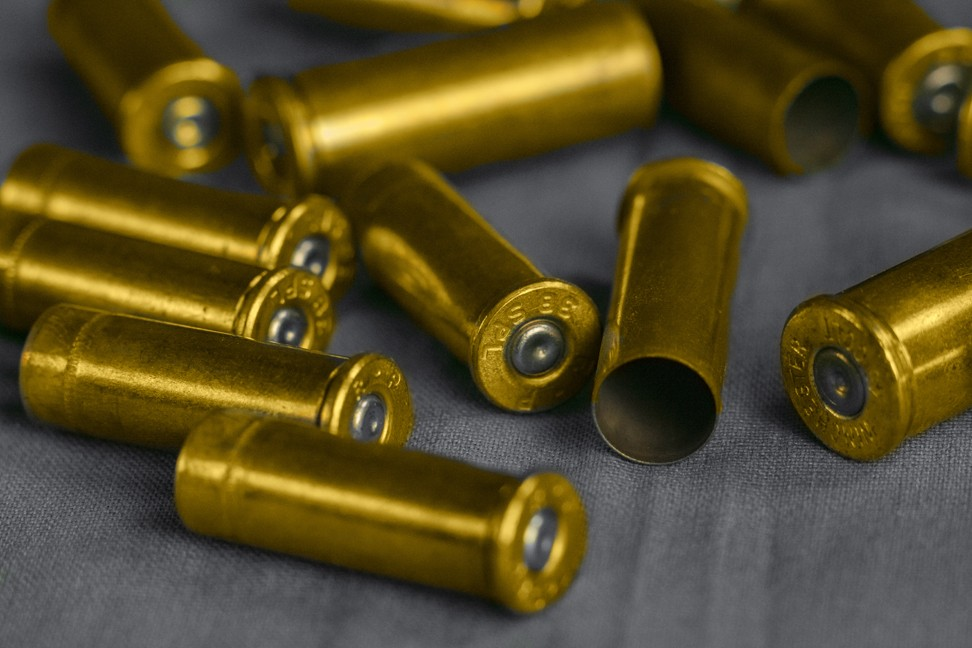 Bullet casings - How to Survive an Active Shooter