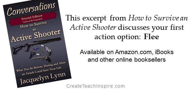 How to Survive an Active Shooter - Excerpt discusses Flee