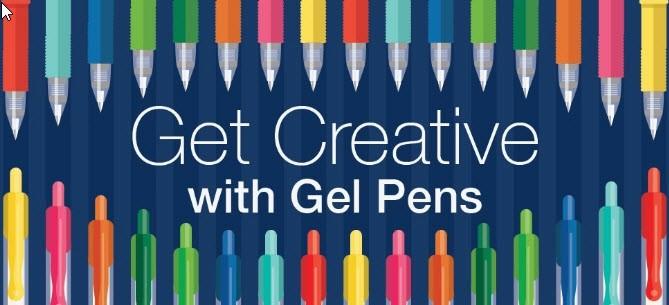 Get Creative with Gel Pens