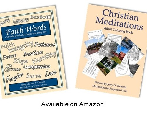 Faith Words Adult Coloring Book Now Available