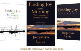 Finding Joy in the Morning, Finding Joy Journal, Finding Joy in the Morning Coloring Book - book covers