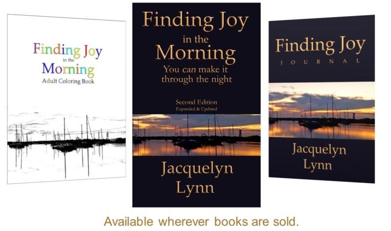 Finding Joy in the Morning, Finding Joy Journal, Finding Joy in the Morning Coloring Book - book covers