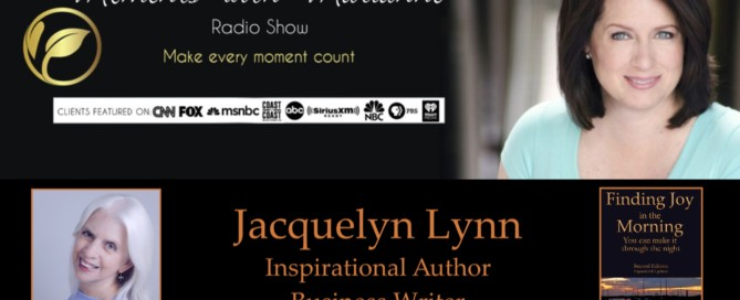 Marianne Pestana interviews Jacquelyn Lynn about her book, Finding Joy in the Morning.