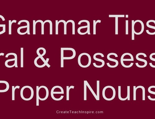 How to Make Proper Nouns Plural and Possessive