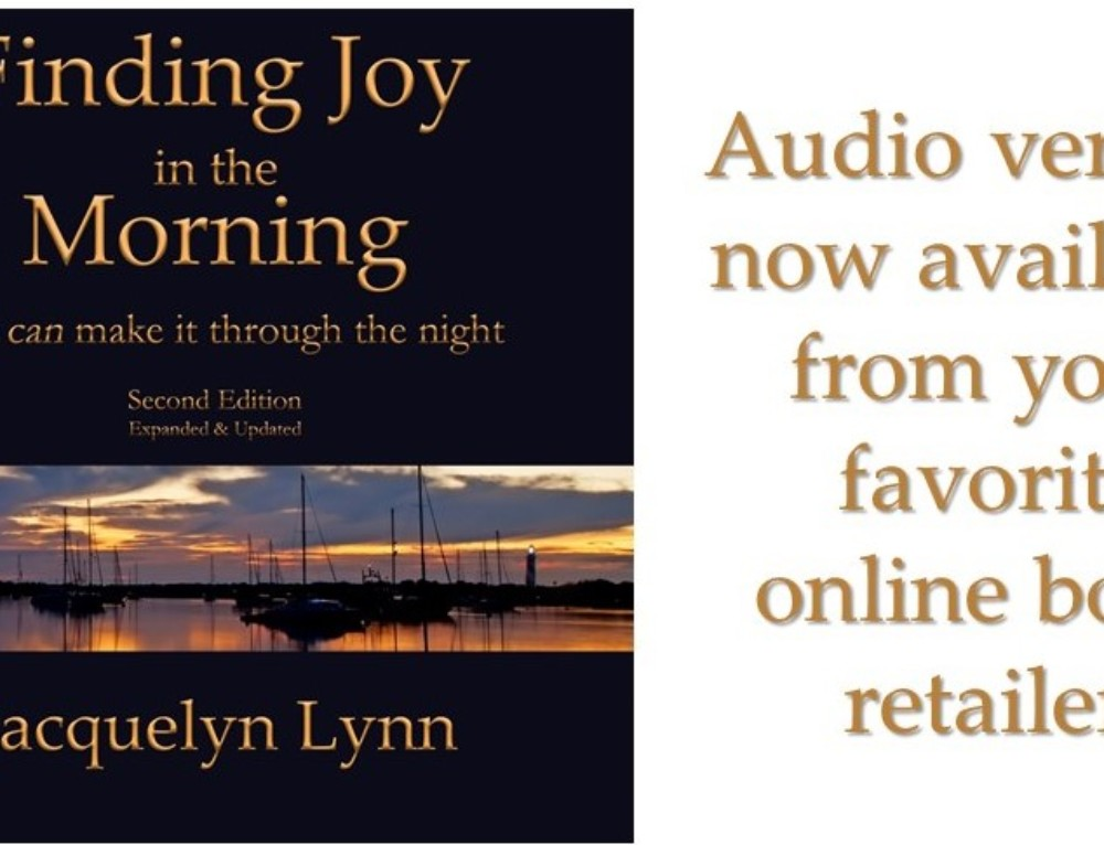 Finding Joy in the Morning Audiobook Now Available