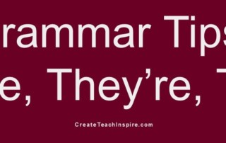 Grammar Tips: There, They're, Their - Jacquelyn Lynn