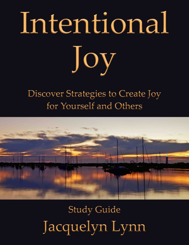 Intentional Joy Study Guide - Jacquelyn Lynn
