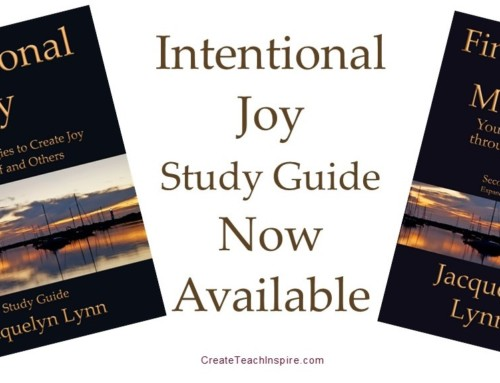 Intentional Joy Study Guide Now Available