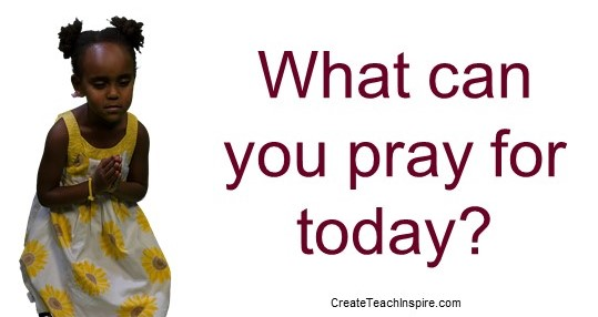 What can you pray for today? Jacquelyn Lynn