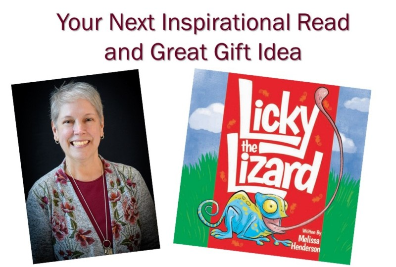 Melissa Henderson and Licky the Lizard book cover