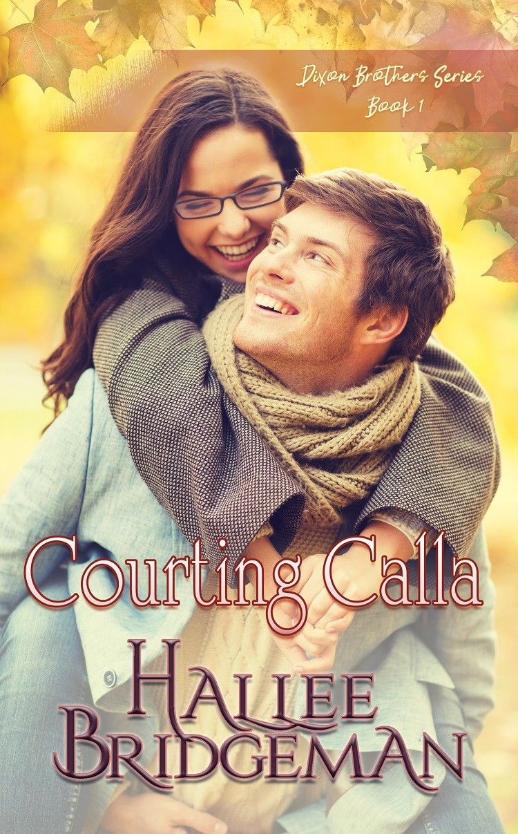 Courting Calla by Hallee Bridgeman (cover)