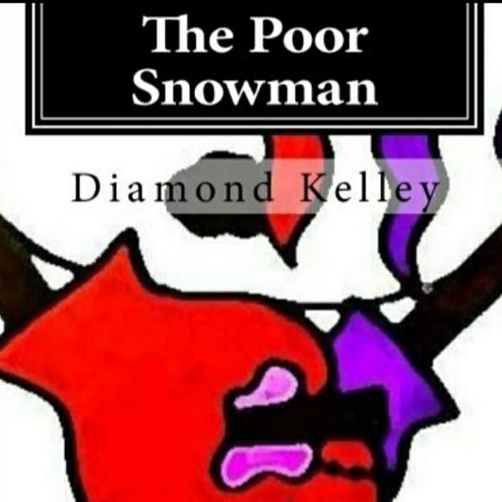 The Poor Snowman by Diamond Kelley (cover)