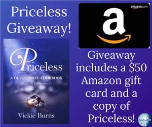 Priceless Giveaway