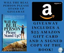 Will the Real Person Please Stand Up? giveaway details