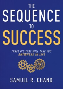 The Sequence to Success by Samuel R Chand (cover)