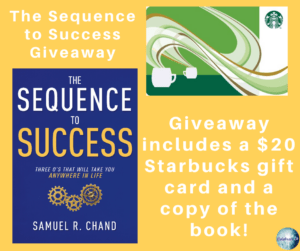 Sequence to Success giveaway details
