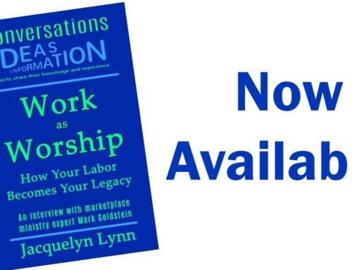 Work as Worship Now Available