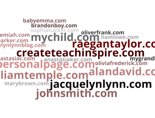 Buy Domain Names for Your Grandchildren