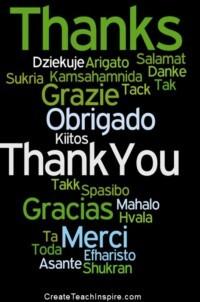 Thanks! Thank you!
