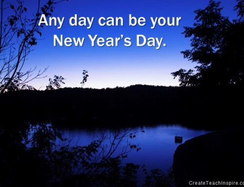 Any Day Can Be Your New Year's Day